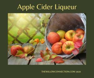 Apple Cider Liqueur